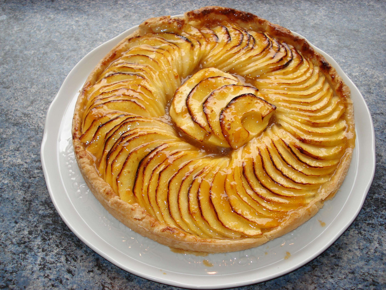 Tarte aux pommes la cuisine de g rald - Dessin de tarte aux pommes ...