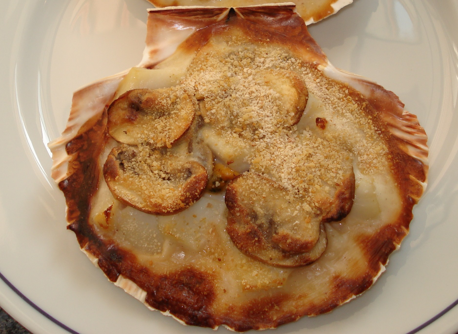 Coquilles saint jacques de mamie lucienne la cuisine de g rald - Saint jacques au four ...