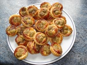 Anchois et olives vertes