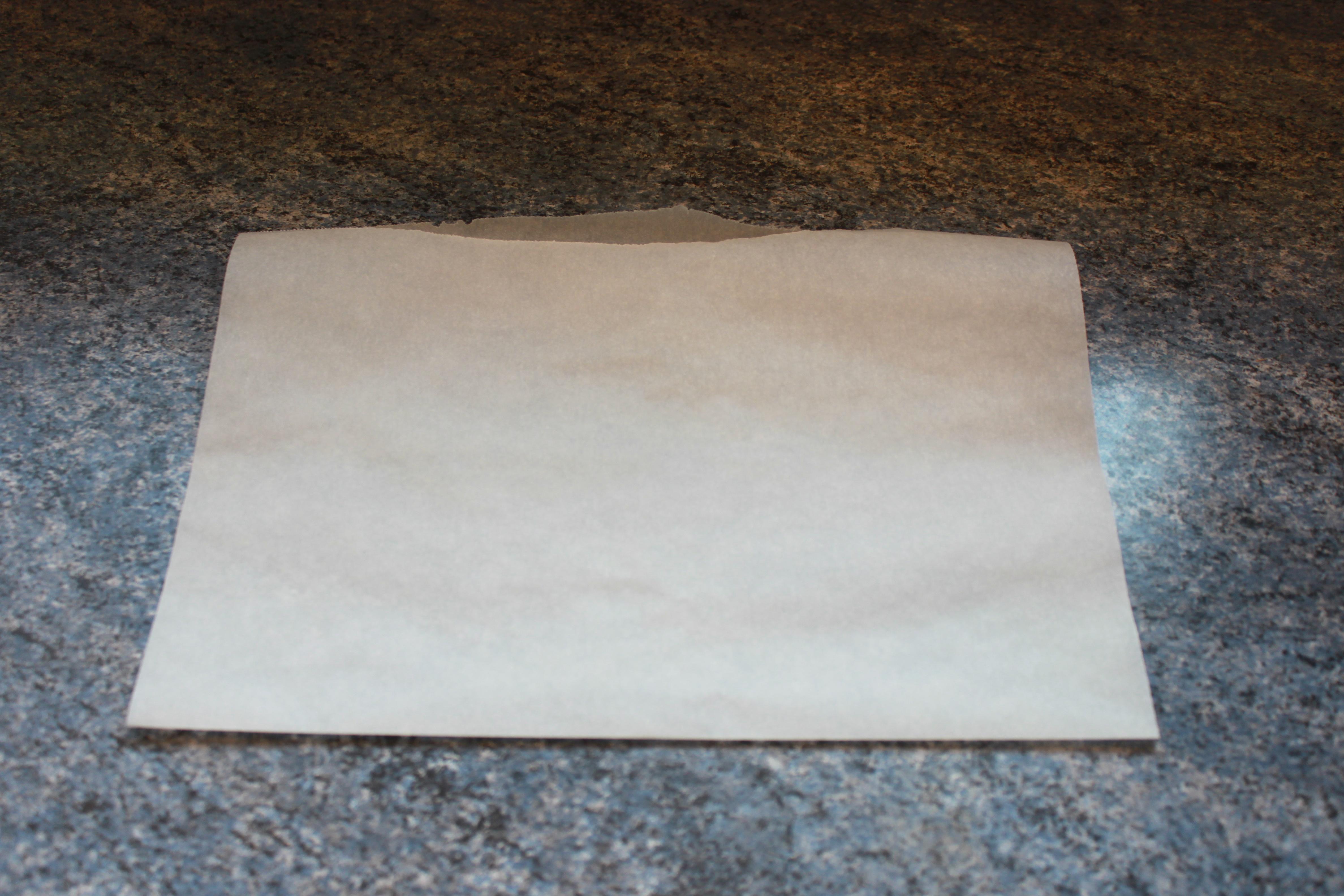 Faire un couvercle avec du papier cuisson la cuisine de - Truc a faire avec du papier ...