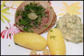 Tête de Veau, sauce Ravigote.
